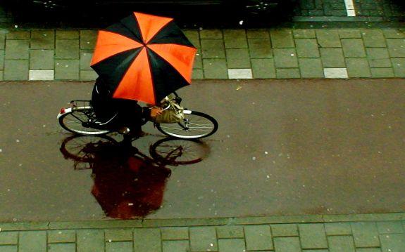 Bicicleta na Chuva
