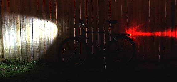 Farol de bicicleta