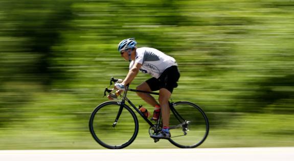 Treino de bicicleta