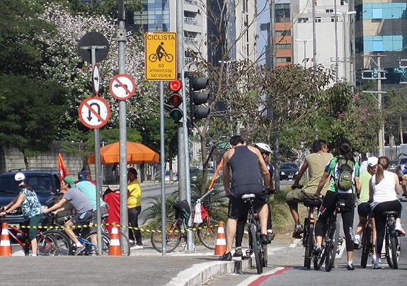 Ciclofaixa de São Paulo