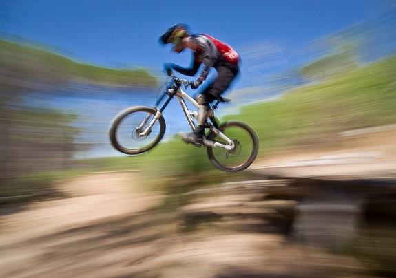 ... vez de uma competição de Moutain Bike 44e9925be8caf