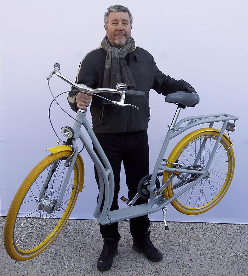 Eu vou de bike bicicletas lazer e transporte urbano for Starck philippe